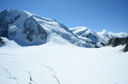 crevasse: Alpine Landscape