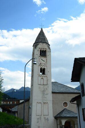 courmayeur: Church in Courmayeur