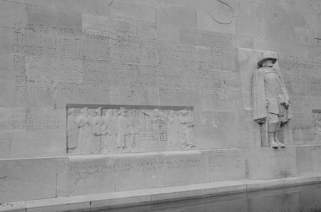 water garden: Wall Detail
