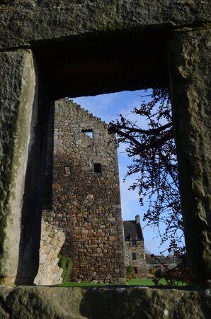 castle buildings: Through the Window