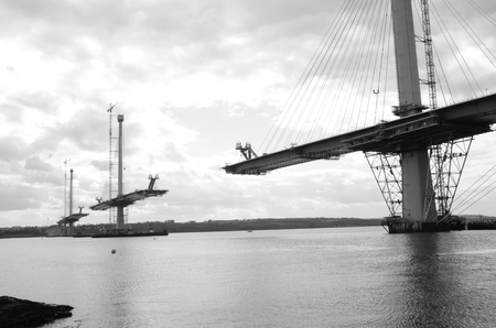 Forth Bridge Construction
