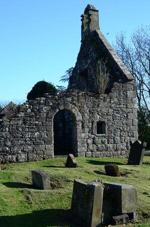 church ruins: Church Ruins