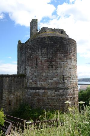 turret: Ravenscraig Castle Turret