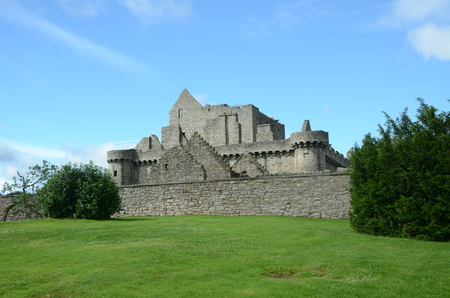 lothian: View Toward Craigmillar Castle