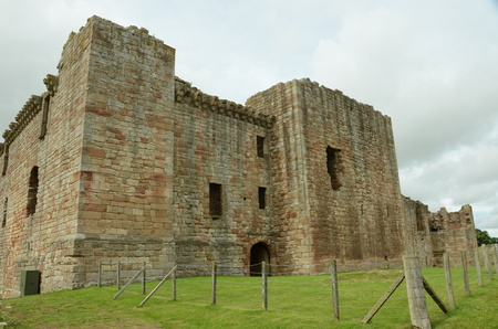 lothian: View of Crichton Castle
