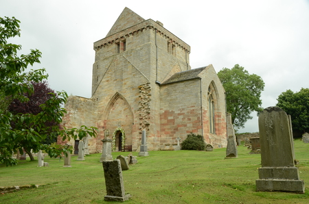 lothian: Graveyard at Crichton Church