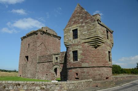 corbel: View of Burleigh Castle
