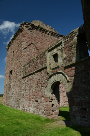 corbel: Exterior of Burleigh Castle