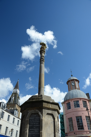Mercat Cross and Towers