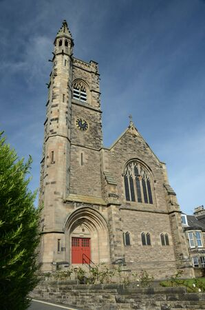 Church in Burntisland Stock Photo