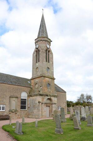 numeros romanos: Iglesia de Kingsbarns