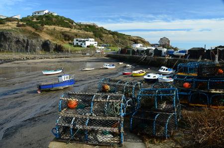 Pettycur Harbour Stock Photo