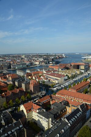 View over Copenhagen Stock Photo