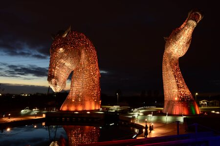 Kelpies Orange Pair Editorial