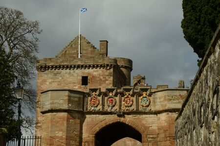 Saltire in Linlithgow