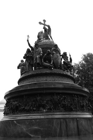 Millenium Monument Stock Photo