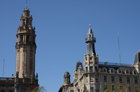 Barcelona Rooftop Towers