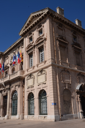 Marseille Town Hall Stock Photo