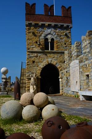 Cannon Balls at D'Albertis Castle