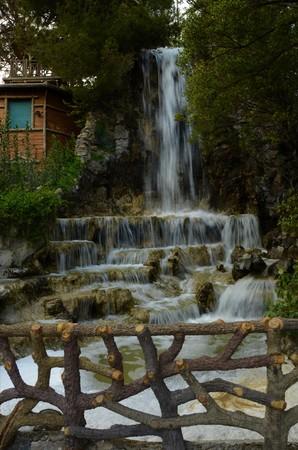 Waterfall in genoa
