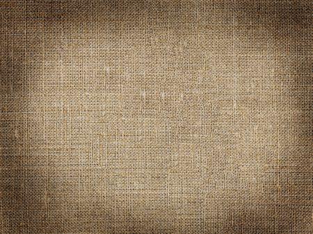 Grunge pattern with dark vignette framing made of grunge hessian XXL Stock Photo