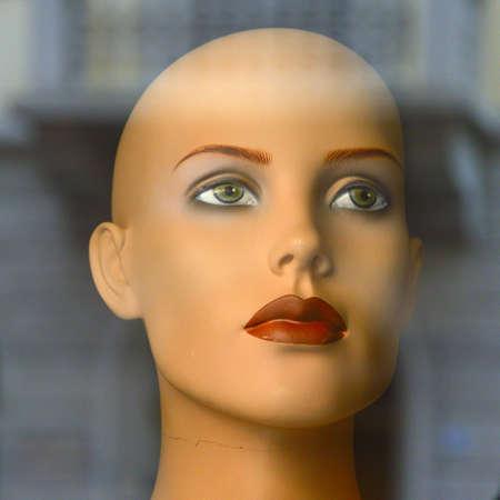 Woman Fashion Mannequin Stock Photo