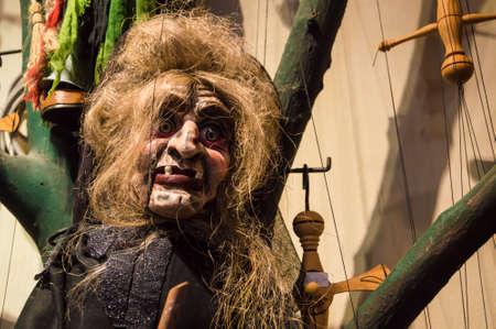 czarownica: marionetka straszny horror straszne wiedźmy