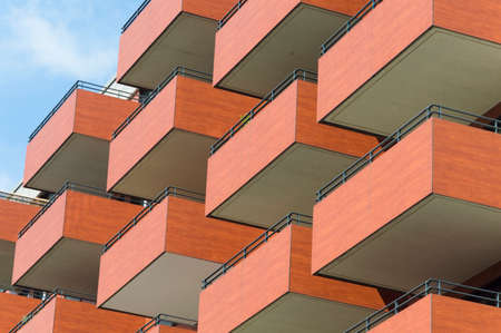 in particular: A particular skycraper urban style, German, Europe Stock Photo