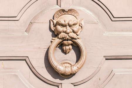 knocker: Demon Head Door Knocker, Ancient Knocker