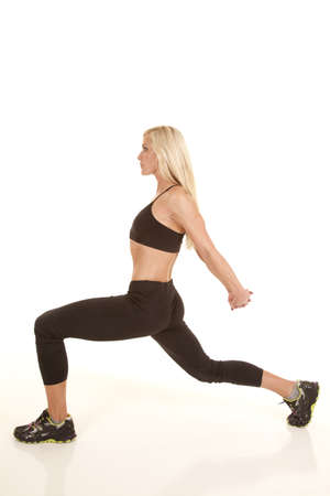 flexable: a woman doing some stretches to make her body flexable