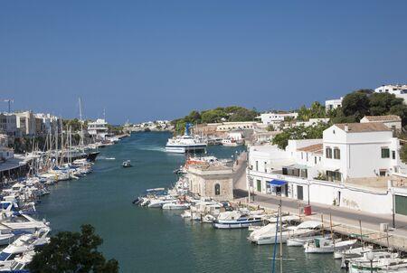 menorca: Marina at Port Mahon, Menorca Editorial