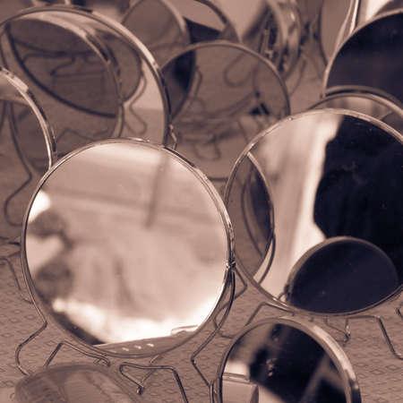 multitude: The multitude of mirrors posing