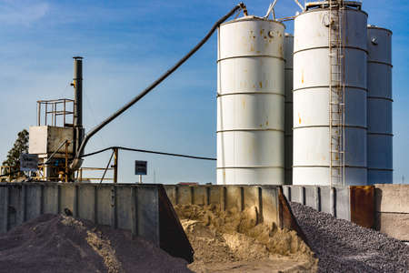 Cement industry and related silos