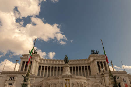 The Altar of the Fatherland is a monument built in honor of Victor Emmanuel, the first king of a unified Italy, located in Rome, Italy.