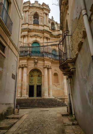 Scicli (Sicily): ancient medieval e baroque Church