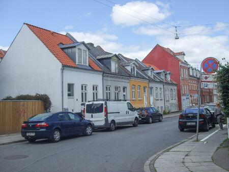AARHUS, DENMARK - JANUARY 01, 2011: View of the city of Aarhus in Denmark Editorial