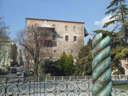 constantinople: The Serpent Column in Constantinople now Istanbul Turkey