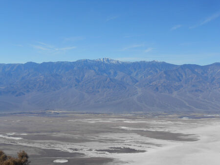 Zabriskie Point in Death Valley Nevada USA photo