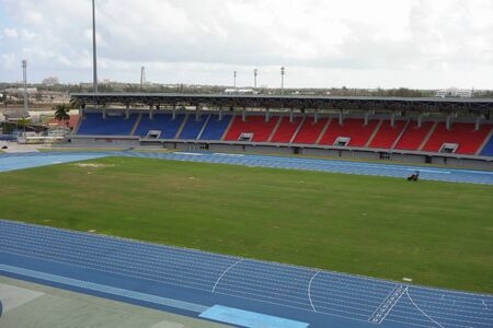 thomas: NASSAU, USA - MARCH 12, 2015: The Thomas A Robinson National Stadium