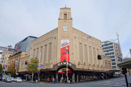 c�vico: AUCKLAND, NEW ZEALAND - JUNE 09, 2015: the Civic Theatre