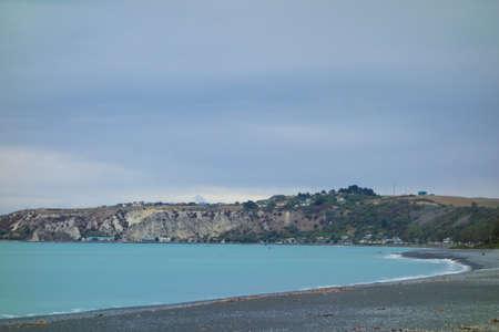 kaikoura: View of the sea in Kaikoura, New Zealand Editorial