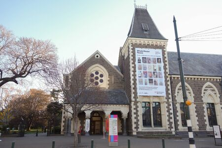 canterbury: Christchurch, Nouvelle Z�lande - 10 juin 2015: mus�e Canterbury