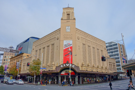 civic: AUCKLAND, NEW ZEALAND - JUNE 09, 2015: the Civic Theatre