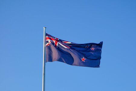oceania: The national flag of New Zealand, Oceania