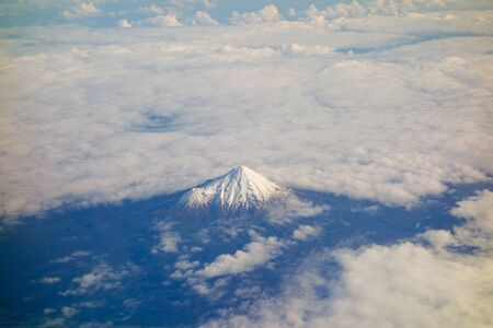 egmont: Mount Taranaki aka Mount Egmont is an active but quiescent stratovolcano in Taranaki, New Zealand