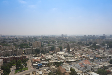 View of the city of Beer Sheva, Israel