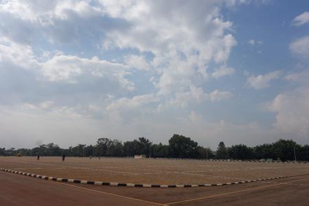 KAMPALA, UGANDA - CIRCA SEPTEMBER 2016: Kololo Independence ground