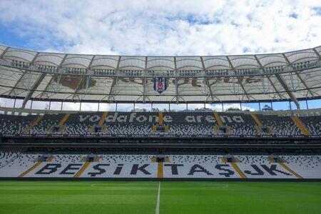 ISTANBUL, TURKEY - CIRCA SEPTEMBER 2016: Besiktas Vodafone Arena stadium Editorial