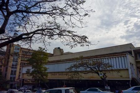 KAMPALA, UGANDA - CIRCA SEPTEMBER 2016: Post Office