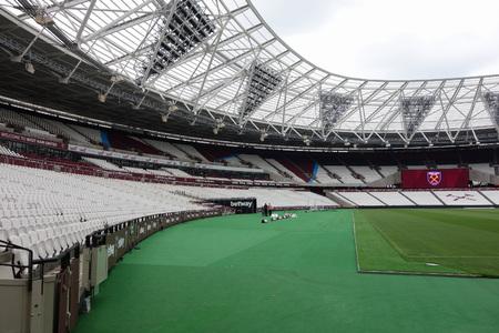 LONDON, UK - CIRCA SEPTEMBER 2016: West Ham London Stadium